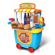 Gizmovine Kids Pretend Play Toys Barbecue Cart Shop
