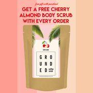 Free Cherry Almond Body Scrub with Every Order