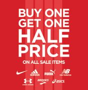 Buy One Get One Half Price on All Sale