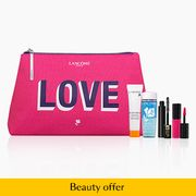 Free Gift from Lancome in Debenhams