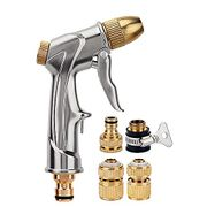 Brass Nozzle, Zinc Alloy Garden Hose Sprayer