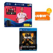 1TB PLAYSTATION 4 PRO with FIFA 20+CALL of DUTY: BLACK OPS 4 & NOW TV Only £319