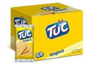 CASE PRICE 12 X Tuc Salted Crackers Original Flavour 23g ONLY 59p or 2 for £1