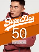 Superdry Mega Sale! 50% Discount!