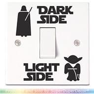 Star Wars Light Switch Stickerss