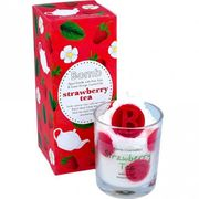 Bomb Cosmetics Strawberry Tea Piped Candle