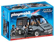 Playmobil 6043 Police Van with Lights and Sound