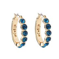 Best Price Quistal Hoop Huggie Earrings