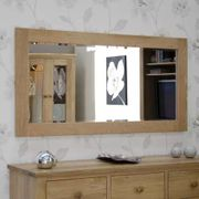 Rohan Oak 1500 X 750 Mirror on Sale From £399 to £189