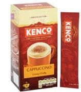 Kenco Cappuccino Coffee 8 Sachets 149G *Clubcard Price *SEE LISTING