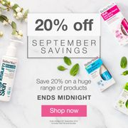 20% off on a Huge Range of Products!