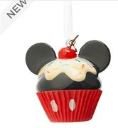 Disney Store Mickey Mouse Cupcake Hanging Ornament Only £7.5