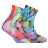 Digital Photo Print Socks (2 Pairs)