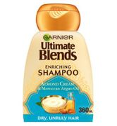 Garnier Ultimate Blends Argan Oil & Almond Cream Dry Hair Shampoo 360ml