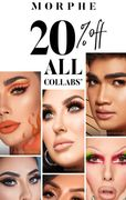 20% off Morphe Collaborations for 3 Days Only