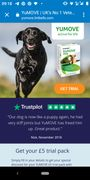 Pack of Yu Move Dog Supplements