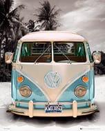 GB Eye VW Camper, Beach, Mini Posters (40 X 50cm) - Min Order of 5 (£9.95)