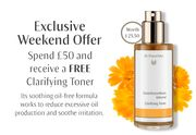 Spend £50 or More and Receive a FREE Clarifying Toner
