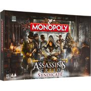 HASBRO Assassin's Creed Syndicate Monopoly