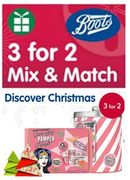 Boots 3-for-2 Christmas Mix & Match - over 1,000 PRODUCTS!