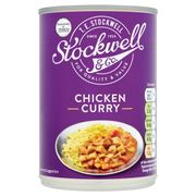 Best Price Stockwell & Co Chicken Curry with Vegetable at Tesco