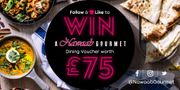 Win a Nawaab Gourmet Dining Voucher worth £75!