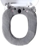 Gifts Treat Toilet Seat Cover Cute Animal Style Toilet Accessories Soft