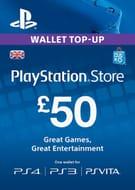£50 Playstation Network (PSN) Card (UK) £40.79 at CDKEYS
