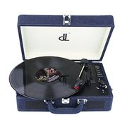 Record Player of Dl Potable Wooden Suitcase Vinyl Turntable