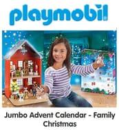 NEW! PLAYMOBIL Jumbo Advent Calendar - Family Christmas (70383)