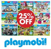 25% off Playmobil Sets