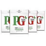 PG Tips Original Pyramid Tea Bags (Pack of 4, Total 960 Tea Bags)