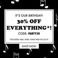30% off All Non-Sale Items