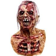 Molezu Walking Dead Full Head Mask, Resident Evil Monster Mask, Zombie Costume