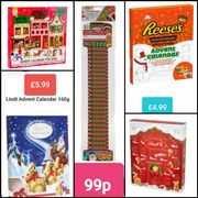 Advent Calendars for Less than £10