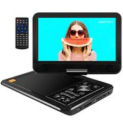 """APEMAN Upgraded 10.5"""" Portable DVD Player with Swivel Screen"""