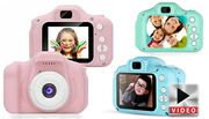 Mini Digital Kids Camera with Optional 32GB SD Card