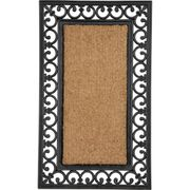 Argos Home Coir and Rubber Doormat