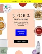 Flash Sale: 3 for 2 on Everything!