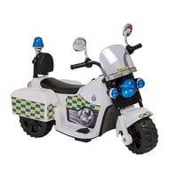 6V Battery Powered Police Trike