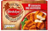 Birds Eye 8 Chicken BBQ Griddlers