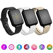 Waterproof Smart Fitness Watch with Heart Rate Monitor