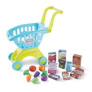 Little Tikes Shopping Trolley Includes 26 Pieces of Play Food