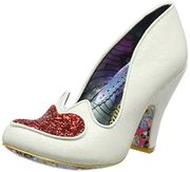Irregular Choice Women's Love Me Not Closed Toe Heels, White C, 6 UK 39 EU