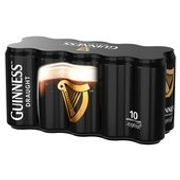Guinness Draught Cans 10 X 440ml