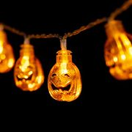 60% off GIGALUMI Halloween Pumpkin String Lights 20 LEDs 2.75m