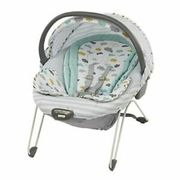 Glider Elite in Clouds 2-in-1 Gliding Swing & Bouncer Seat with 10 Melodies