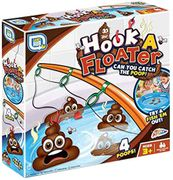 Grafix Hook a Floater Poo Fishing Bath Tub Novelty Floating Poop Water Game