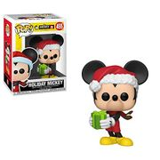 Funko 35753 POP Vinyl: Disney 90th Anniversary: Holiday Mickey, Multi