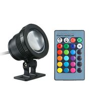 12v 10w LED Underwater Lamp with Remote